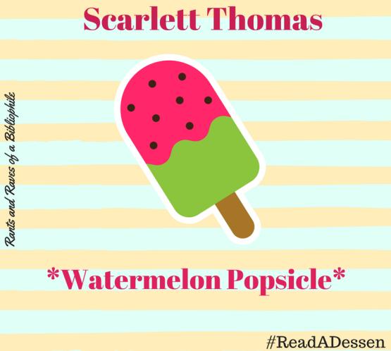 Scarlett popsicle