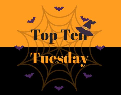 top ten tuesday halloween