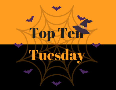 top ten tuesday halloween