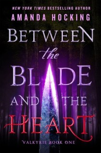 between the blade and the heart