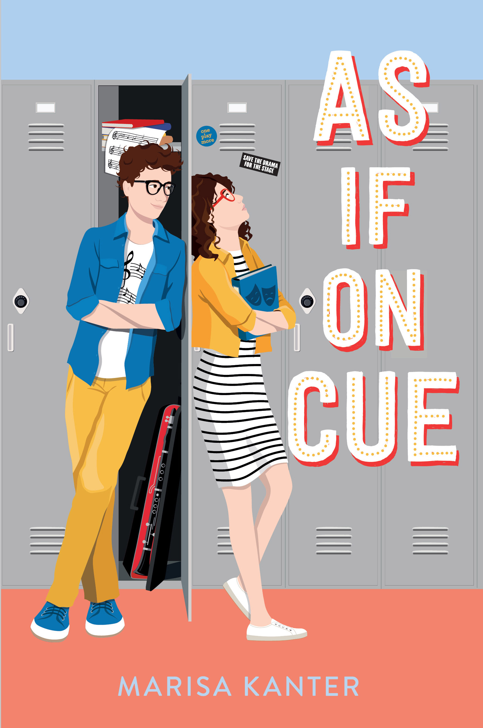AS IF ON CUE Cover